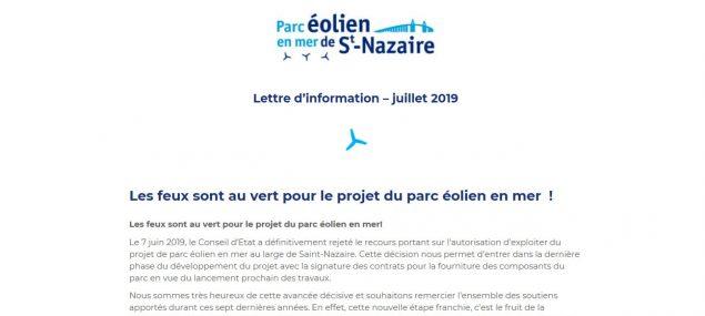 Lettre d'information - juillet 2019