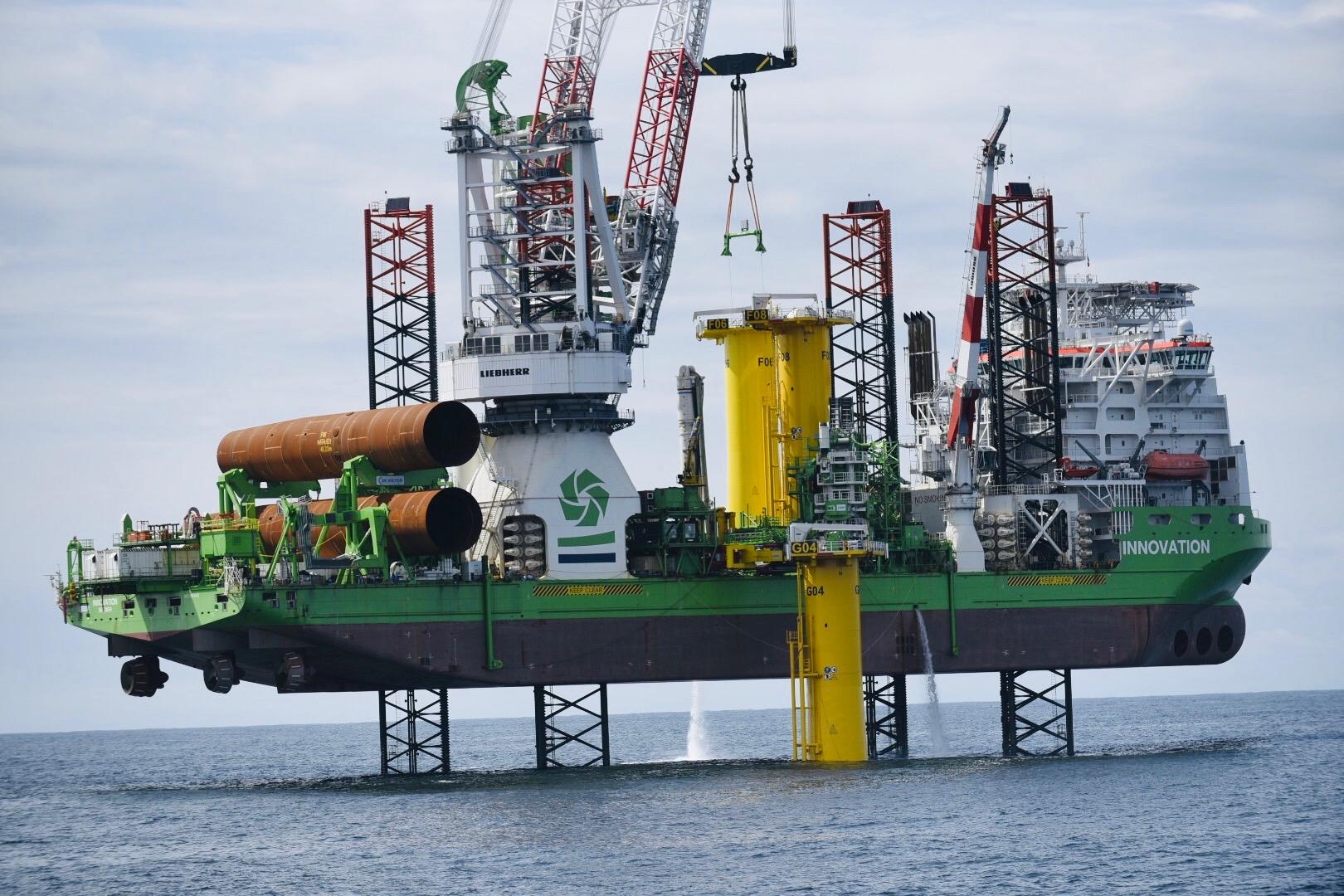 L'installation en mer du parc éolien de Saint-Nazaire est lancée !